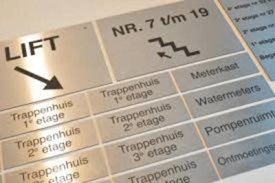 De leukste naamborden vind je op naambordencentrale.nl